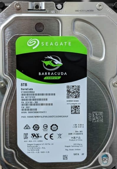Seagate Barracuda 8TB Specifications