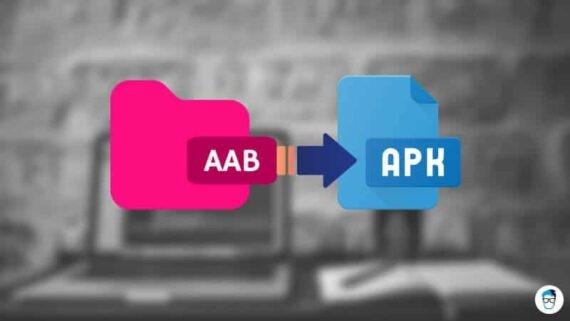 convert aab to apk