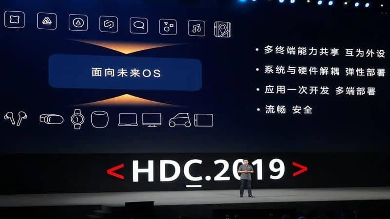 Huawei Unveiled HarmonyOS