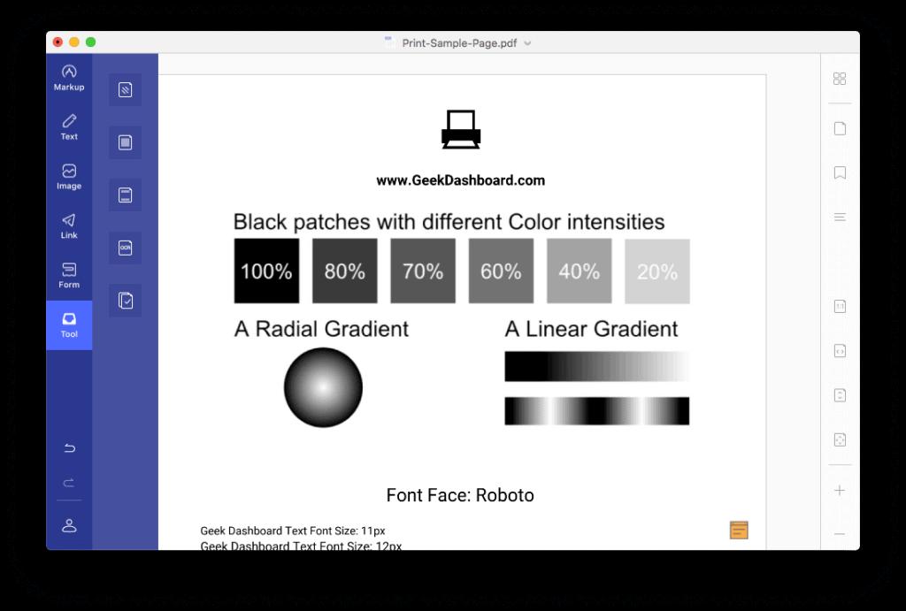 PDFelement 7 Editing Options