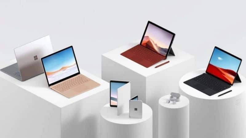 Microsoft Surface Laptop 3, Surface Pro 7 and Pro X