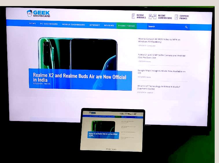 JustStream Mirroring Desktop for work