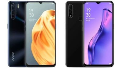 Oppo A91 and A8