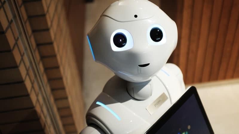 Face of robot