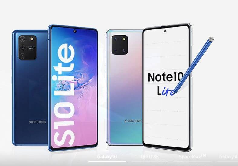 Galaxy Note10 Lite and S10 Lite