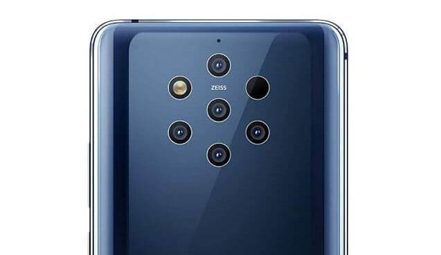 Nokia Pure View with Penta Cameras