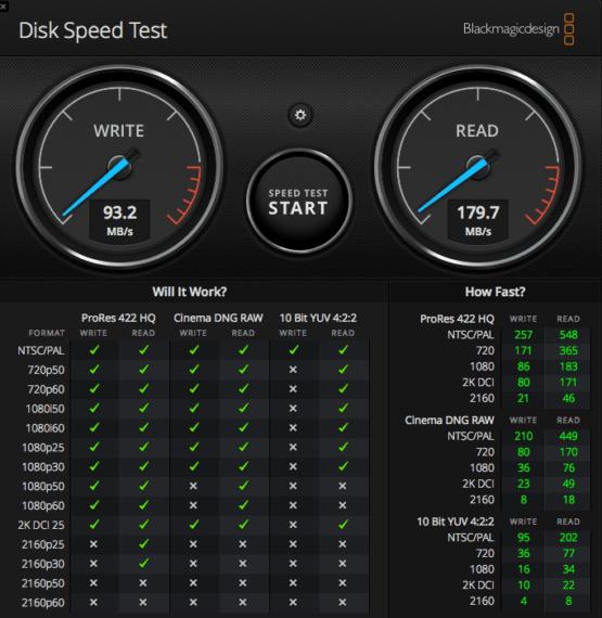 Seagate Backup Plus Hub Speed Test