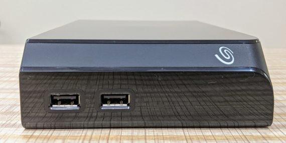 Seagate Backup Plus Hub USB Ports