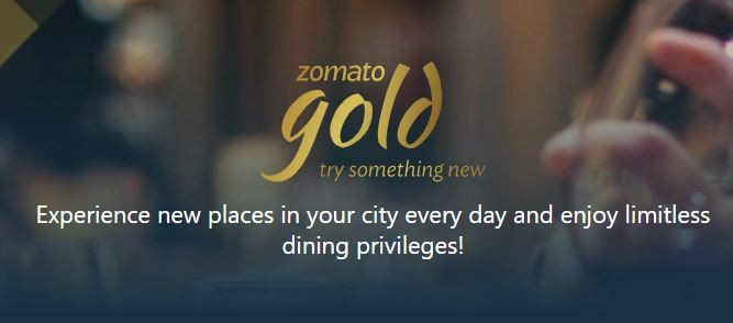 Free Zomato Gold for 3 months
