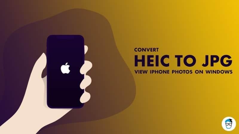 HEIC to JPG converter