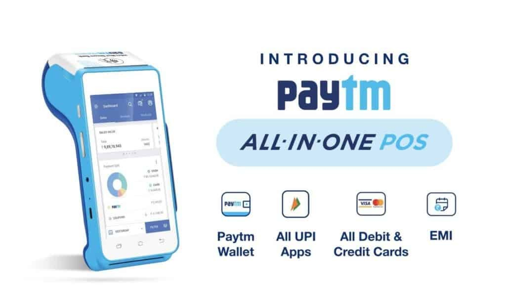 Paytm All-In-One POS
