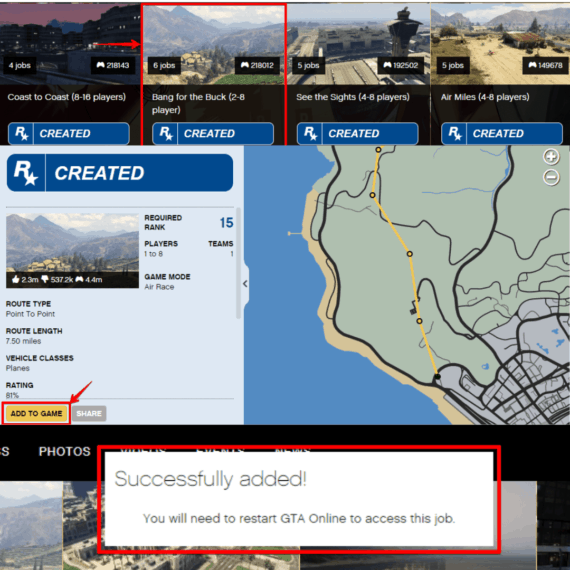 Add custom map to your GTA 5 playlist