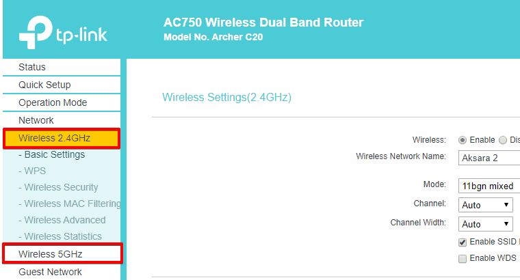 Wifi Router Frequencies