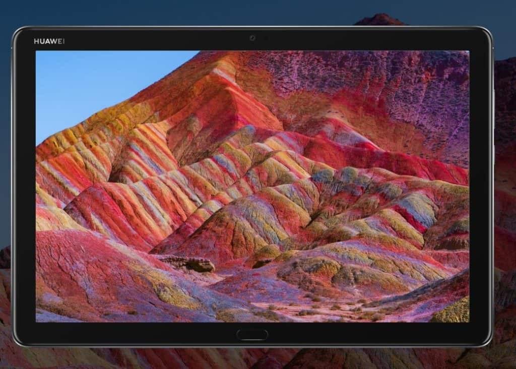 Huawei MediaPad M5 lite front panel