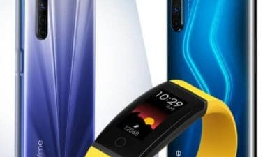 Realme 6 Series and Reame band