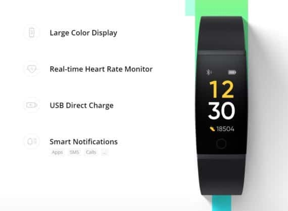 Realme Band features