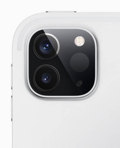 iPad Pro camera setup