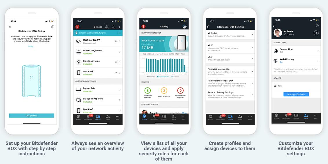 Bitdender-Central-app-setup