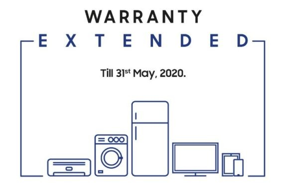 Samsung extended warranty on its devices