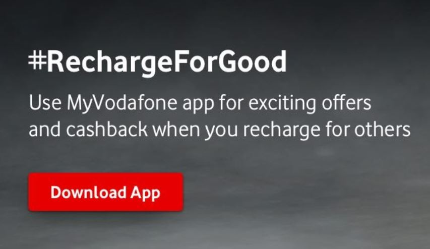 Vodafone Recharge for good