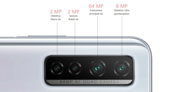 Huawei P40 Lite 5G Camera Specs