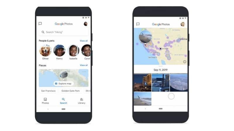 Google Photos Maps feature