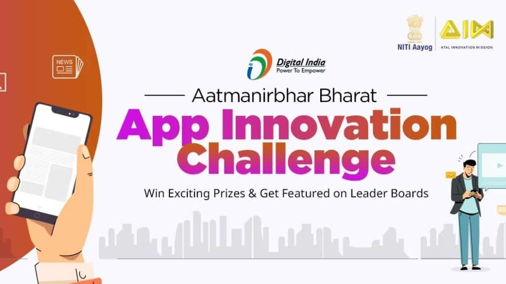Atmanirbhar Bharat app challenge