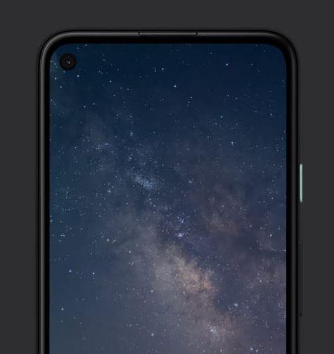Google Pixel 4a front