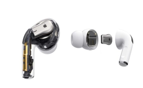 AirPods Pro inside