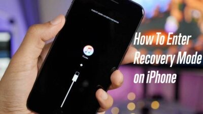 How To Enter Recovery Mode in iPhone