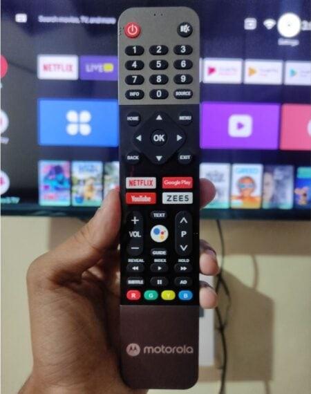 Moto ZX2 Remote