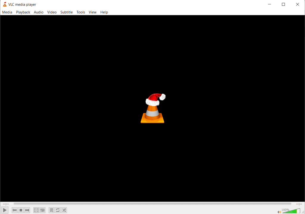 VLC Media Player UI