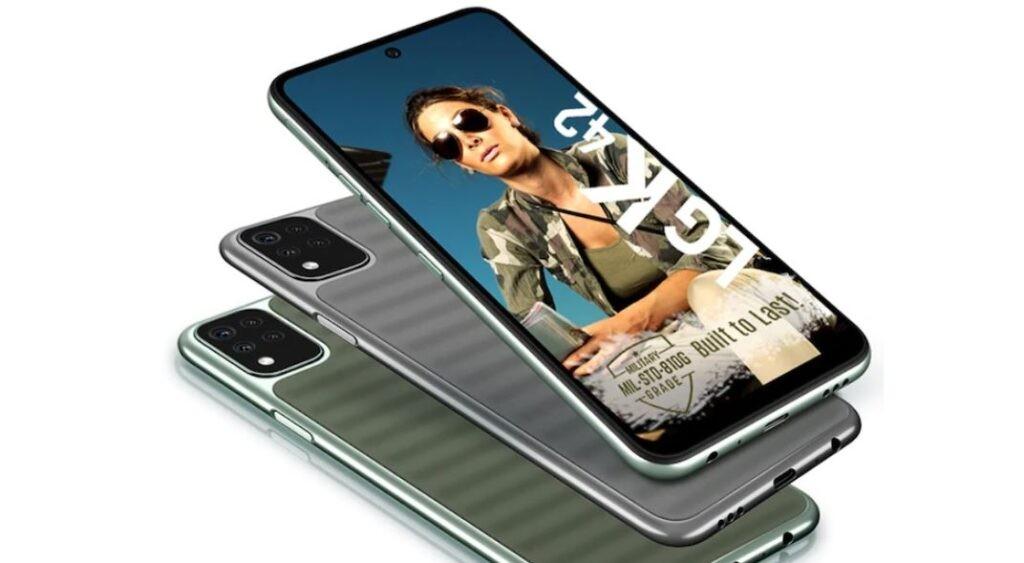 LG K48 smartphone