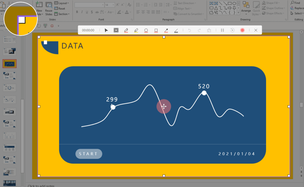 DemoCreator Screen Drawing Tool