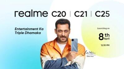 Realme C20, C21, C25 Banner