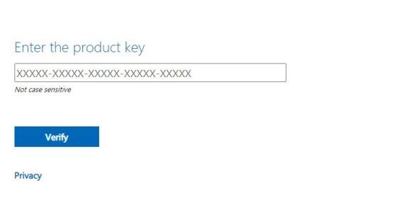 Windows 7 ISO - Product Key