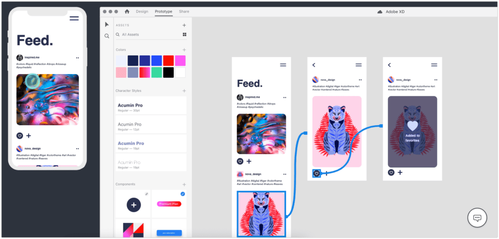 Adobe XD Prototyping Tool Similar to InVision