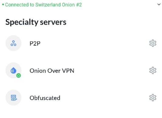 NordVPN Onion Support