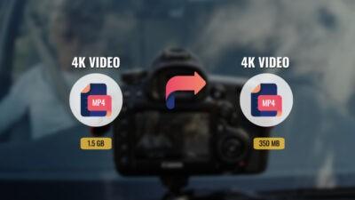 Reduce 4K Video File Size