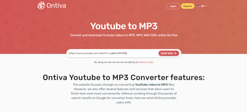 Ontiva YouTube Converter