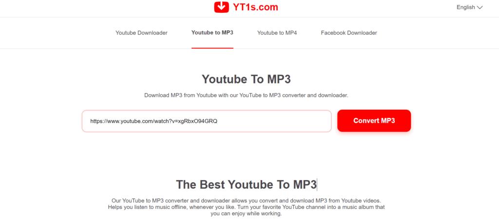 YT1s YouTube Converter
