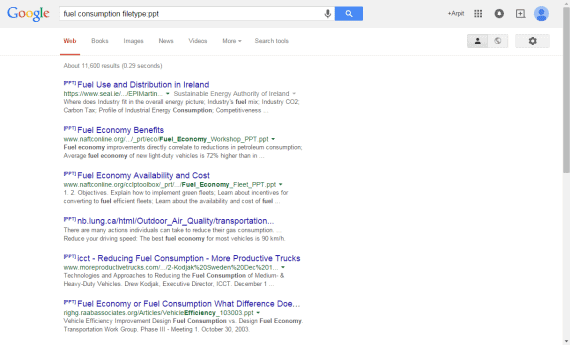 Google extension search