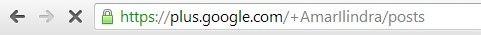 Amar Ilindra Google+ Profile new URL