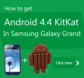 Android 4.4 Kitkat for galaxy grand duos