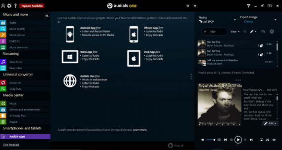 Audials One Review - Mobile Apps