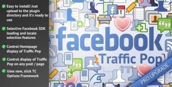Facebook trafic pop