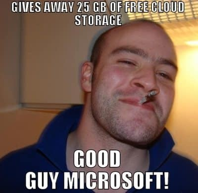 GOOD GUY MICROSOFT