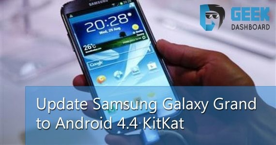 How to Get Android 4.4 KitKat Update for Samsung Galaxy Grand Duos
