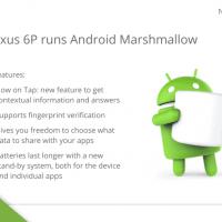 Huawei Nexus 6P OS