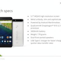 Huawei Nexus 6P Specifications
